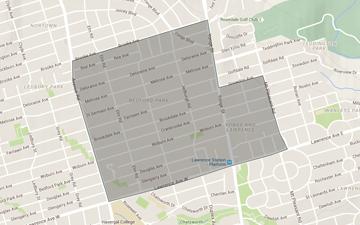 Bedford Park Map